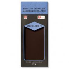 Mørk Chokolade 70%