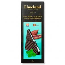 Fyldt Mørk Chokolade 72% med Pebermynte